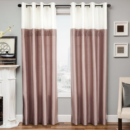 Maison grommet curtain for Decoration maison walmart