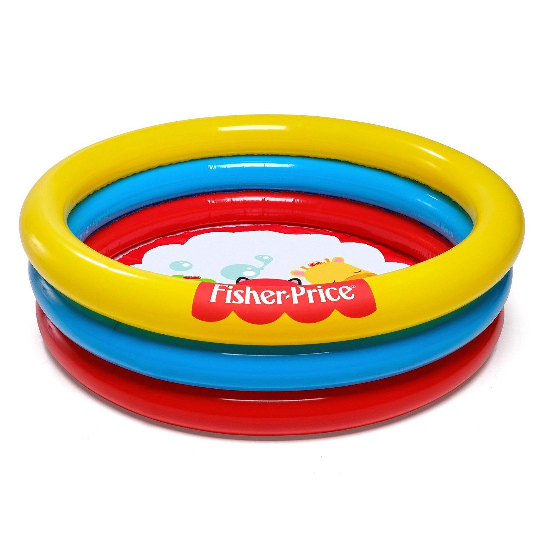 "Fisher Price 36"" x Н10"" 3-Ring Ball Pit Play Pool"