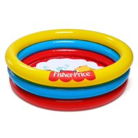 "Fisher Price 36"" x 10"" 3-Ring Ball Pit Play Pool"