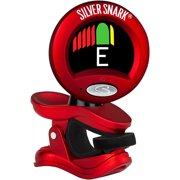 Snark Red Silver Snark Clip-On Tuner