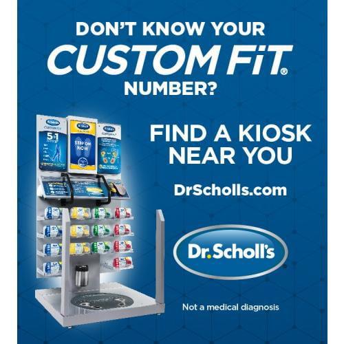 dr scholls arch support machine near me