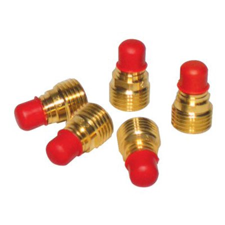 Gas Lenses, Size 1/8 in, Nozzle Size 8, Used on Torches