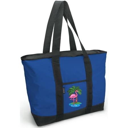 Flamingo Tote Bag Deluxe Flamingo Tote Bags](Flamingo Tote Bag)