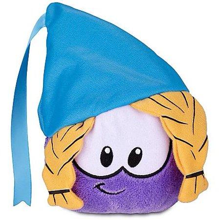 Club Penguin Series 12 Purple Puffle Plush [Princess with Hat]