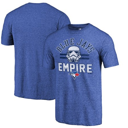 Toronto Blue Jays Fanatics Branded MLB Star Wars Empire Tri-Blend T-Shirt - Royal