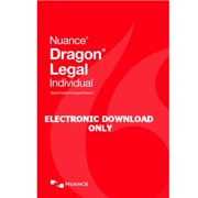 Nuance 368869 Dragon Legal Individual Version 14 Speech Recognition Software Electronic Download