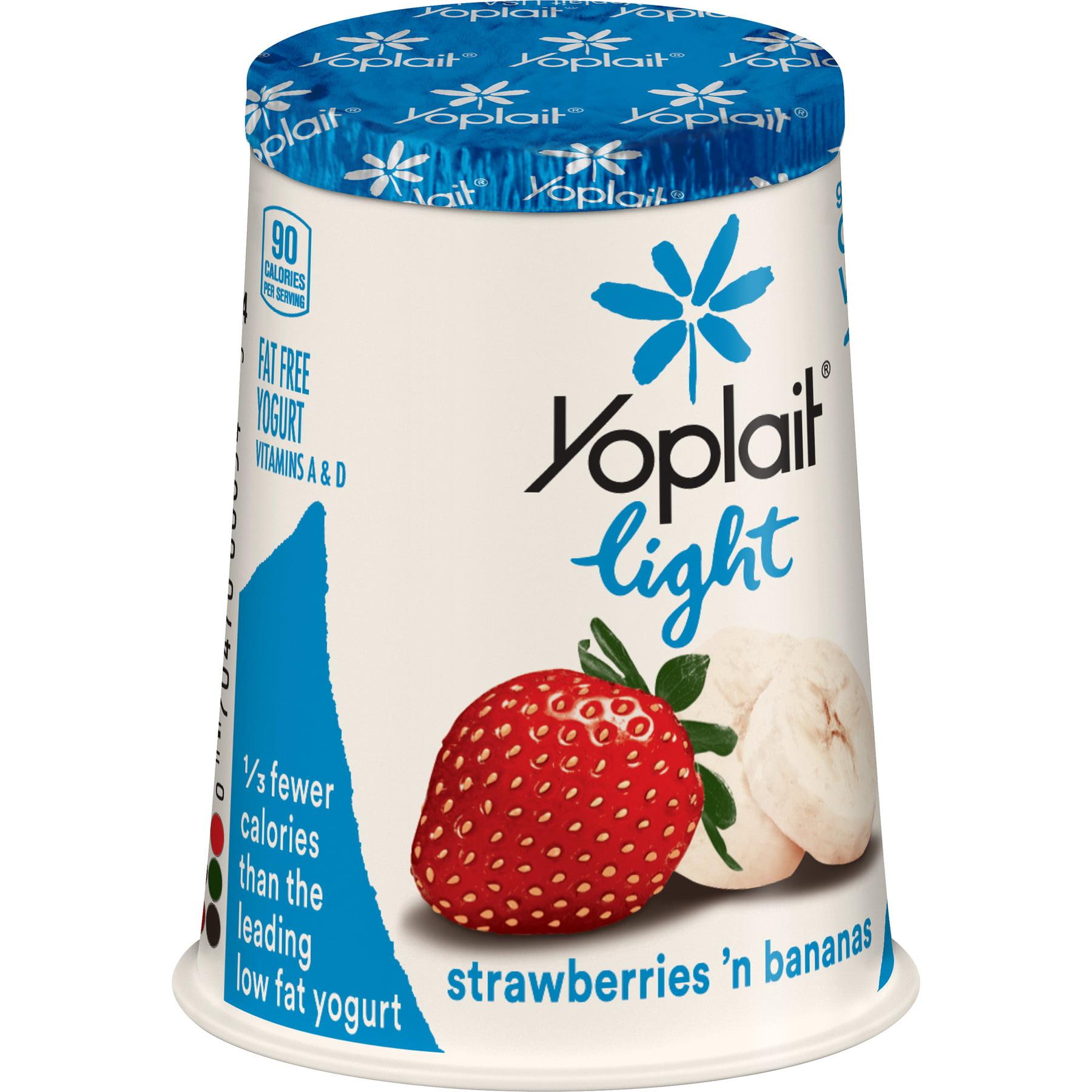 Yoplait Light Fat Free Yogurt
