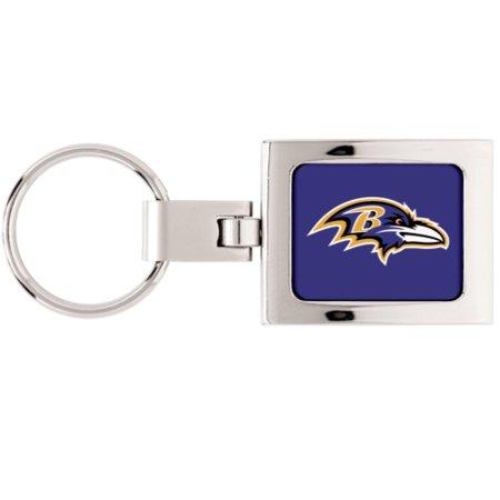 Baltimore Ravens WinCraft Premium Metal Key Ring - No