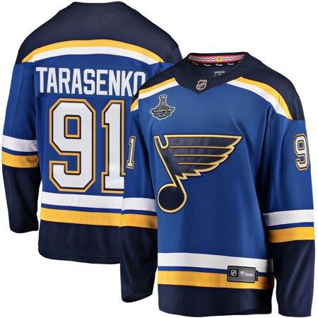 Vladimir Tarasenko St. Louis Blues Fanatics Branded Youth 2019 Stanley Cup Champions Home Breakaway Player Jersey - Blue