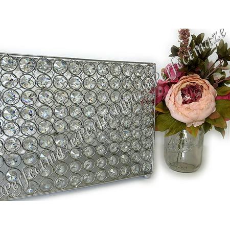 Perfectmaze's Crystal Money Bank/ Wedding card Letter Rectangle Box (Silver)](Wedding Money Box)