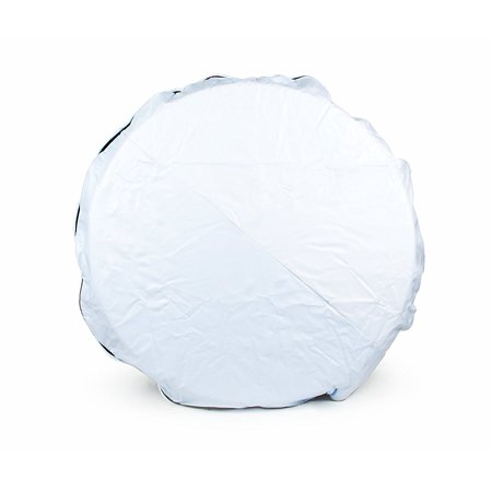 45344 Vinyl Spare Tire Cover (29 inches , White), Fits 28 diameter tire; cover measures 29.06 in diameter By Camco From USA
