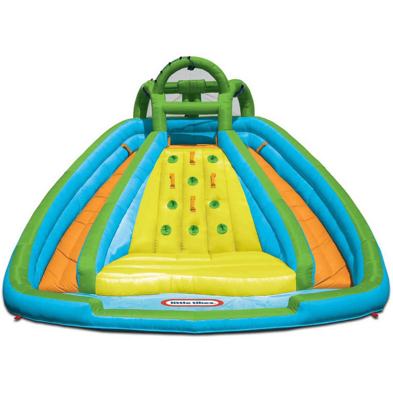 little tikes rocky mountain river race inflatable water slide walmartcom - Inflatable Water Slide