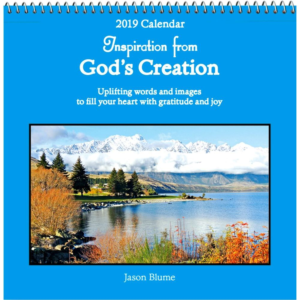 2019 God's Creation Wall Calendar, More Inspiration by Blue Mountain Arts