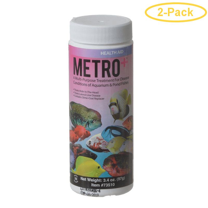 Aquarium Solutions Metro+ 3.4 oz - (Treats 100 Gallons) - Pack of 2
