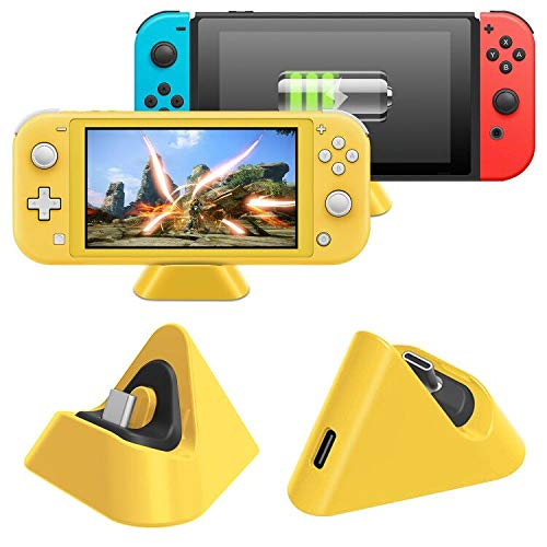 Charging Dock for Nintendo Switch Lite and Nintendo Switch,Charging Stand Station with Type C Port Compatible with Nintendo Switch Lite - image 8 de 8