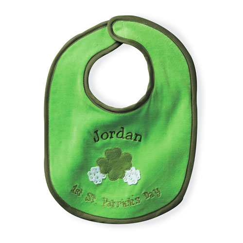Personalized Baby's First St Patrick's Day Bib