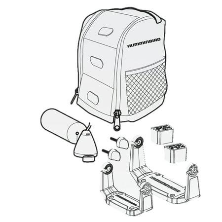 Humminbird Portable Case (Humminbird 740158-1NB ICE PTC UNB2 Portable Ice Case with ICE Transducer (No Battery))