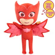 PJ Masks Sing & Talking Feature Plush, Owlette, Ages 3 +