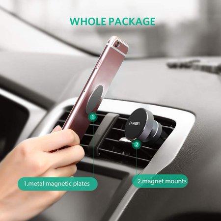 UGREEN Magnetic Car Mount Air Vent Phone Holder Universal 360 Rotation Air... - image 5 de 7