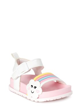 First Steps by Stepping Stones First Walker Cloud Cutie Ankle-Strap Sandals (Infant Girls)
