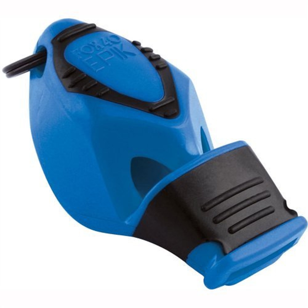 Fox 40 Epik CMG Pealess Safety Whistle, 115 dB, Blue - 8802-0508