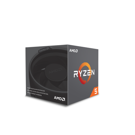 AMD CPU RYZEN 5 2600 WITH WRAITH STEALTH COOLER -
