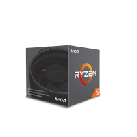 AMD CPU Ryzen 5 2600 With Wraith Stealth Cooler - YD2600BBAFBOX