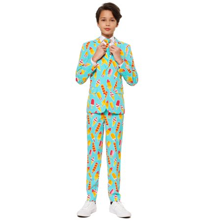 OppoSuits Teen Boys Cool Cones Ice Suit - Cool Halloween Shooters