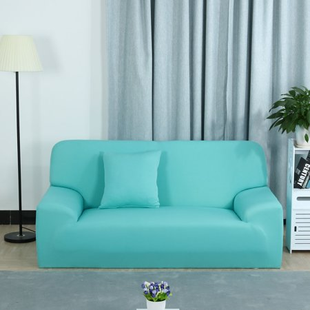 Stretch Chair Sofa Covers Couch Slipcover Light Blue 3seater 76 90