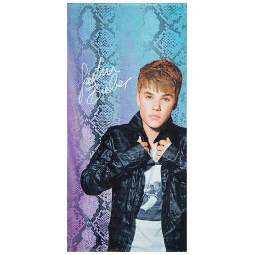 Justin Bieber Snake Towel, Blue