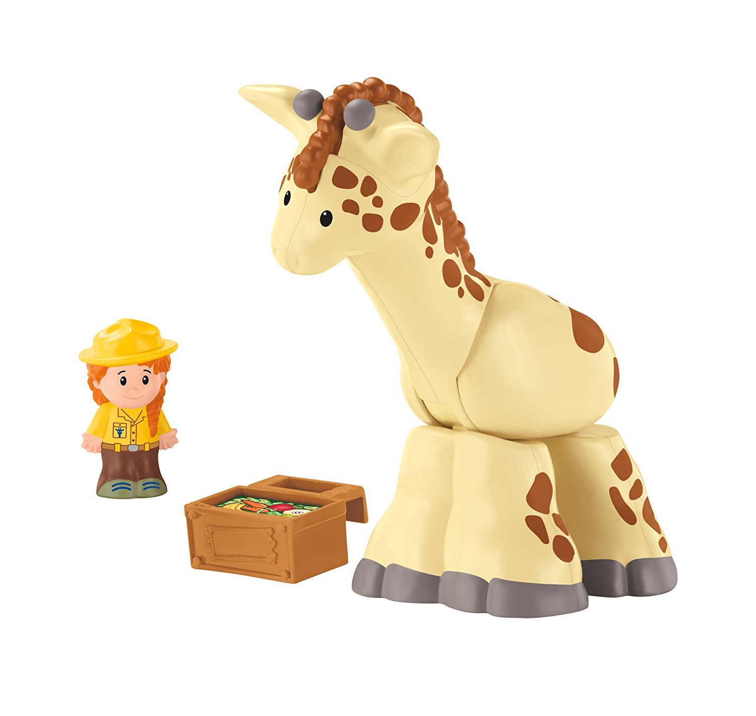 Fisher-Price Little PeopleGiraffe, Bows his head to eat-just like a real giraffe! By FisherPrice Ship from US