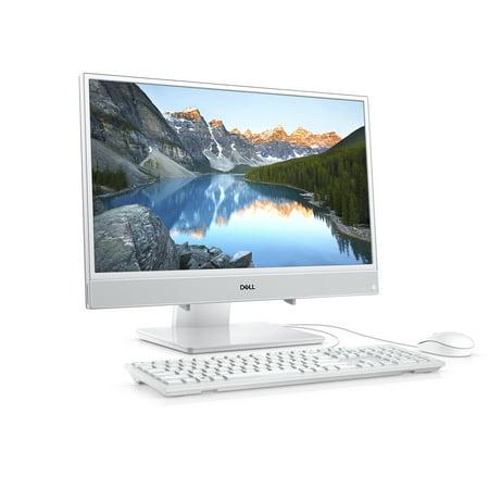 Dell Inspiron 22 3000 Series All-in-One, 21.5-inch FHD (1920 x 1080), Intel Pentium 4415U, 4GB 2400MHz DDR4, 1 TB 5400 RPM HDD, Intel HD Graphics 610, i3277-P460WHT (Essential Series Pc)