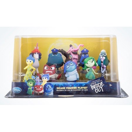Disney Parks Pixar Inside Out Deluxe Figure Play Set New with Box ()