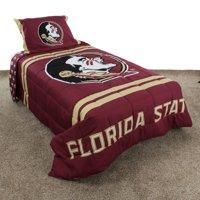 Florida State Seminoles Reversible Reversible Comforter Set With Sham