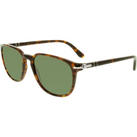 Persol Women's PO3019S-24/31-55 Brown Square Sunglasses