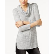 Tommy Hilfiger NEW Heather Gray Women's Size XL Cowl Neck Sweater