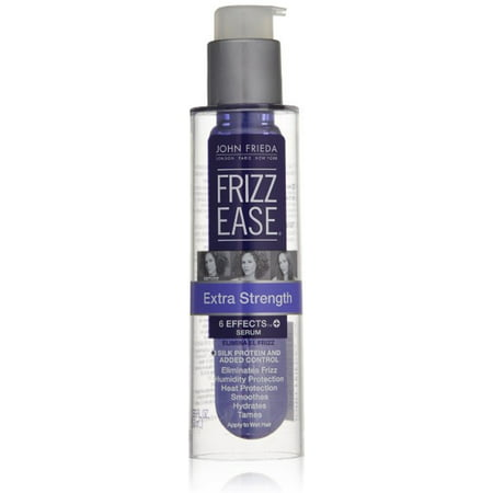 John Frieda Frizz-Ease Hair Serum Extra Strength 6 Effects Serum 1.69 oz (Pack of