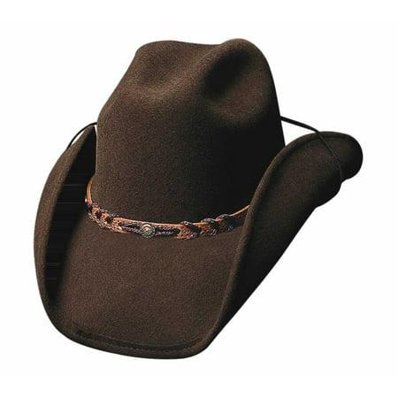 Bullhide Hats 0323Br Cowboy Collection Montana Brown Cowboy Hat