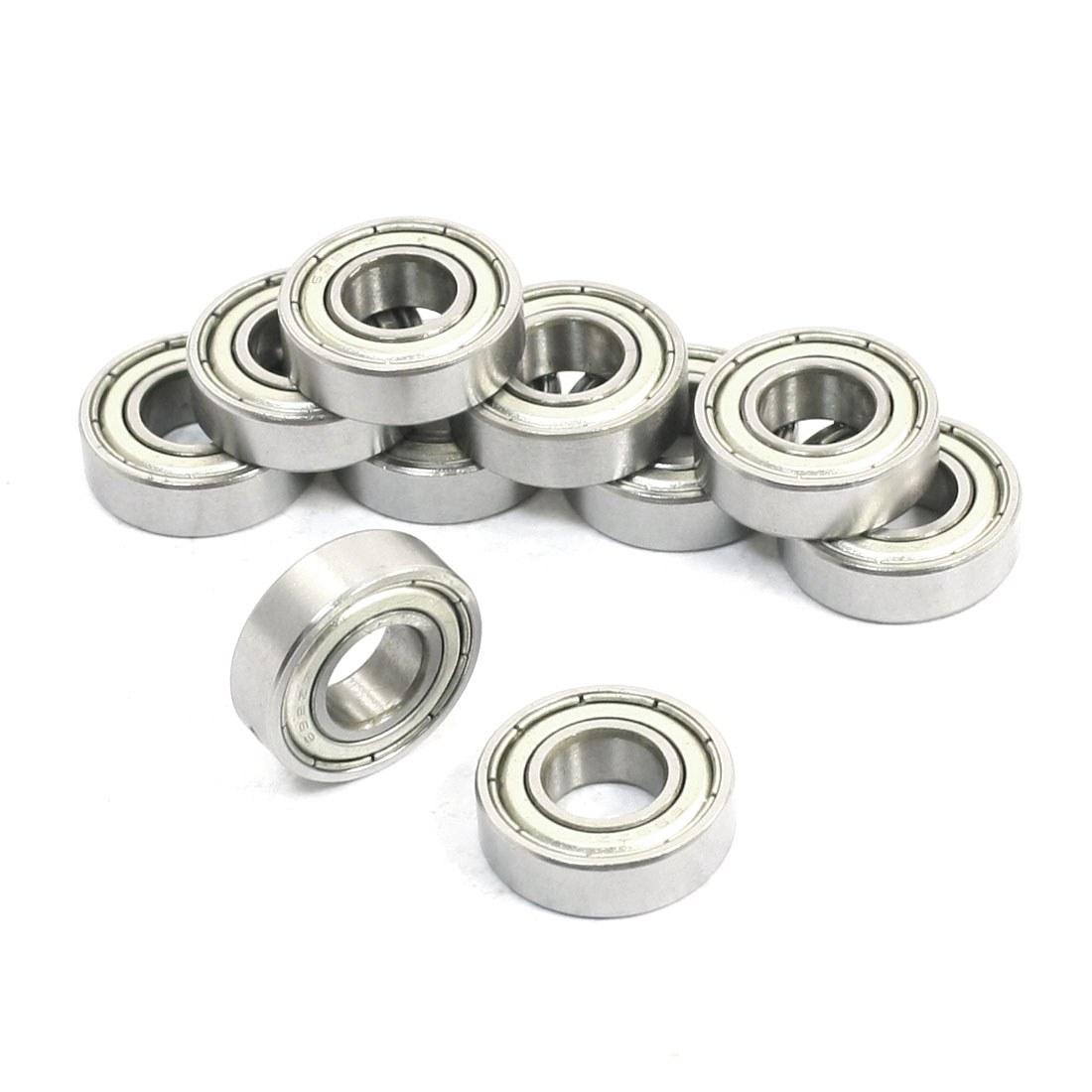 10 Pcs 699ZZ 9mm x 20mm x 6mm One Row Sealed Deep Groove Ball Bearings - image 1 of 1