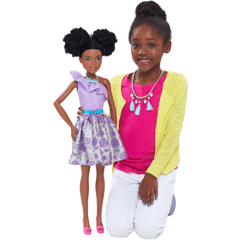 "Barbie 28"" Best Fashion Friend - Curly Hair"