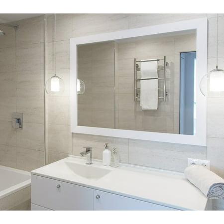 Sanibel Gloss White Mirror ()