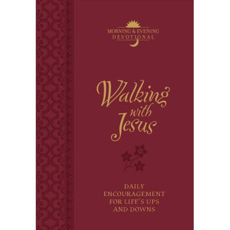 Walking with Jesus (Morning & Evening Devotional) : Daily Encouragement for Life's Ups and Downs](Jesus Walks On Water Craft)