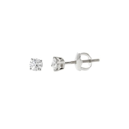 Diamond White Round Brilliant cut Prong Setting solitaire Women