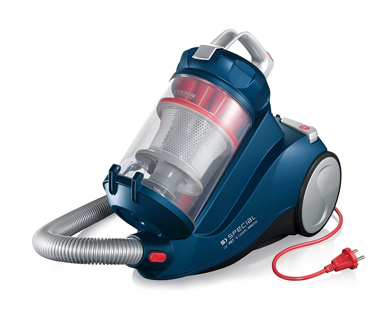 Severin S Special Bagless Vacuum Cleaner, Ocean Blue, MY7118  Corded