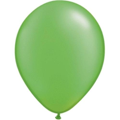 5 Pearlized Lime Green Balloons (100 ct)
