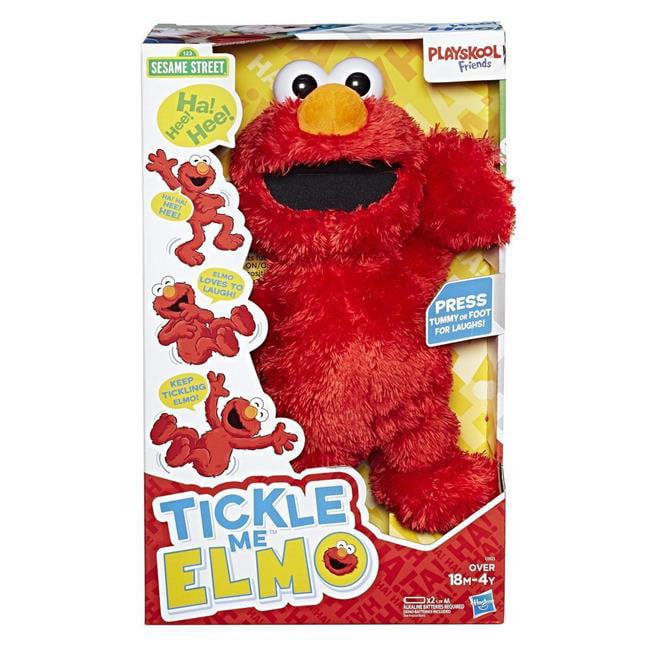 Hasbro HSBC0923 Playskool Friends Sesame Street Tickle Me Elmo Toy 2017 by Hasbro