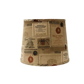 Embroidered hourglass lamp shade 16x16x11 spider walmart wine labels lamp shade aloadofball Gallery