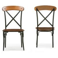 Baxton Studio Broxburn Dining Chair - Set of 2