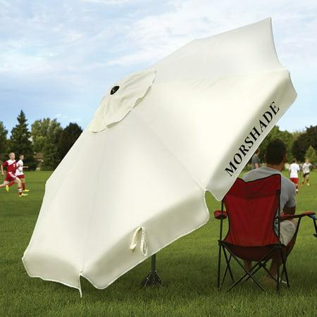 Morshade 9 ft. 180 Patio & Portable Shade Umbrella with Base Stand Attachments (Portable Umbrella With Stand)