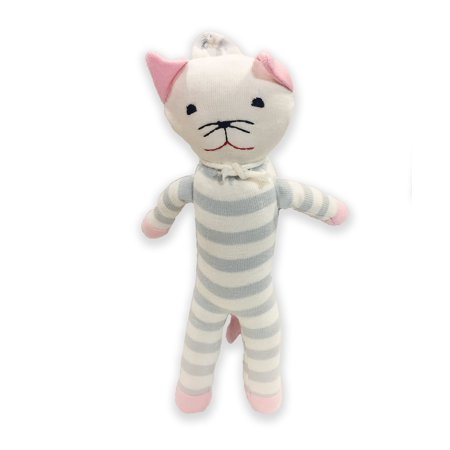 Under the Nile Organic Cotton Scrappy Cat Toy Girl (Nile Organic Cotton Bear)